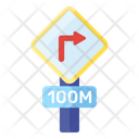 Right Turn Road Arrow Direction Arrow Icon