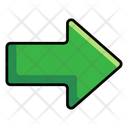 Right Arrow Arrowhead Direction Arrow Icon