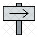 Right Continue Way Icon