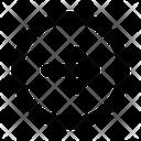 Circle Arrow Direction Icon