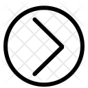 Right Arrow Sign Icon