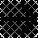 Right Arrow Way Icon