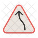 Right bend Icon