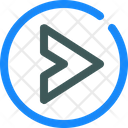 Caret Circle Right Icon