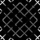 Caret Right Circle Icon