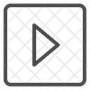 Right Carrot Square Icon