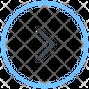 Chevron Circle Right Icon