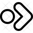 Right Circle Arrow Arrows Icon