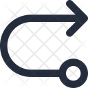 Right connector Icon