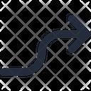 Right Connector Arrow Icon