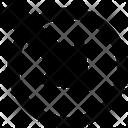 Arrow Circle Right Corner Right Pointer Icon