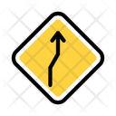 Right Curved Arrow Right Bend Icon