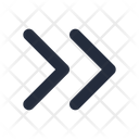 Right Double Chevron Icon