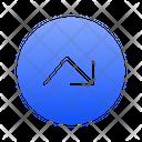 Right Down Arrows Icon
