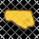 Right Fist Icon