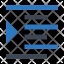 Right Format Align Icon