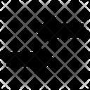 Right Left Arrow Compare Business Icon