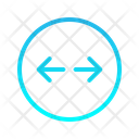 Right Left Expanding Zigzag Top Right Arrow Arrows Icon