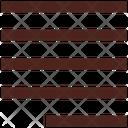 Right Line Align Alignment Icon