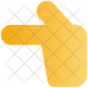 Sign Direction Hand Icon