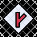 Direction Split Board Icon