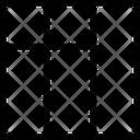 Right Sidebar List Grid Icon