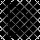 Right Triangle Arrow Icon