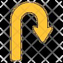 Right Turn Arrow Icon