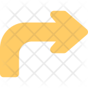 Right Turn Arrow Icon