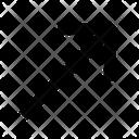 Arrow Diagonal Up Icon
