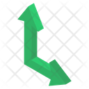 Right Up Arrow Icon