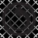 Right Symbol Desing Icon
