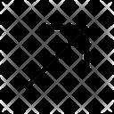 Diagonal Right Up Icon