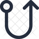 Right up connector Icon