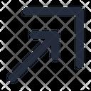 Arrow Move Diagonal Icon