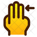 Right With Finger Icon