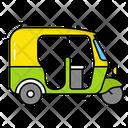 Rikshaw Tuk Tuk Auto Rickshaw Icon
