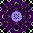 Rim Wheel Icon