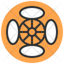 Rims Tire Accessoties Icon