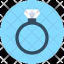 Ring Diamond Wedding Icon