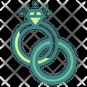 Ring Diamond Love Icon