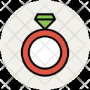 Ring Diamond Jewel Icon