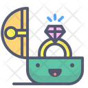 Ring Engagement Gift Icon