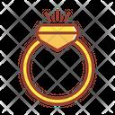 Ring Diamond Ring Jewellery Icon