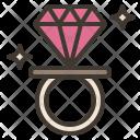 Ring Candy Diamond Icon