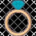 Ring Diamond Ring Diamond Icon