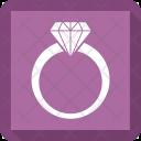 Jewel Jewelry Ring Icon