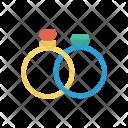 Ring Engagement Jewel Icon