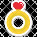 Ring Wedding Heart Icon
