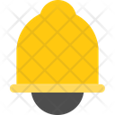 Travel Flat Ring Bell Icon